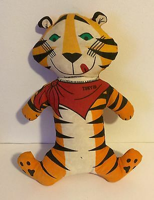 Tony toney the Tiger vintage cereal doll advertising 60's 1960s old