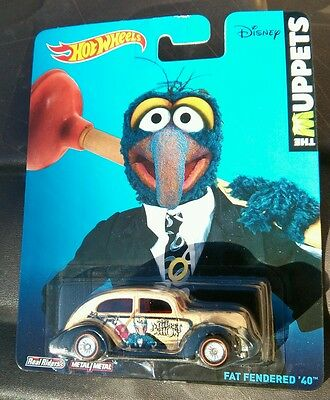 HOT WHEELS 2014 POP CULTURE THE MUPPETS SHOW DISNEY FAT FENDERED 40