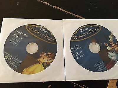Disney's Beauty and the Beast Blu ray ONLY (No case)