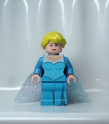 A1214 Lego CUSTOM PRINTED Frozen - Once Upon A Time INSPIRED ELSA MINIFIG Anna