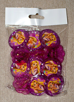 Princess Rapunzel Tangled Cupcake Rings Birthday Party Favor (12) *NEW*