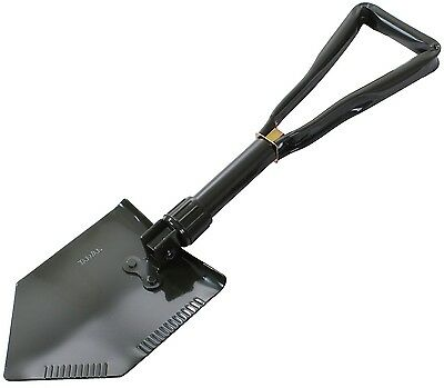 Rothco Olive Drab Steel Tri-Fold Collapsible Shovel - Metal Camp Trifold Shovel