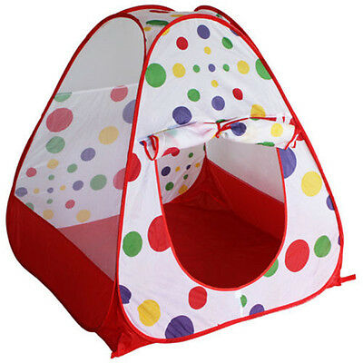 Out/Indoors Portable Folding Princess Play Tent Childrens Kids Castle Play House