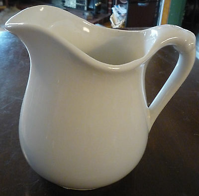 Beautiful old Knowles, Taylor & Knowles (K T & K) ivory porcelain pitcher-Nice!!
