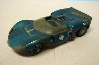 Vintage 1/24 SLOT CAR - CLASSIC - As Raced 1960's- Restoration or Parts