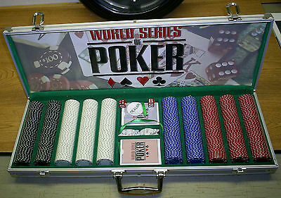 World Series of Poker Championship Edition Kit -Poker Chips + Cards + Dice Set !