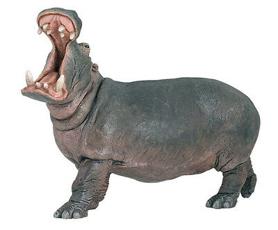 FREE SHIPPING | Papo 50051 Hippopotamus Model Figurine Toy- New in Package