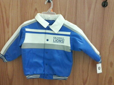 Boys 4T Detroit Lions NFL Officially Licensed Winter Jacket