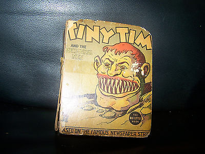 TINY TIM AND THE MECHANICAL MEN BIG LITTLE BOOK 1937 Whitman Stanley Link Comic