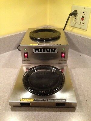 Bunn WL2 Commercial Two-Tiered Coffee Pot Warmer - 120 Volt
