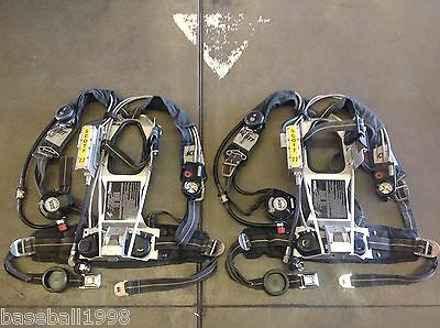 Scott 2.2 AP50 Air Pack Intigrated PASS SCBA Harness 1997 Edition Air Pak