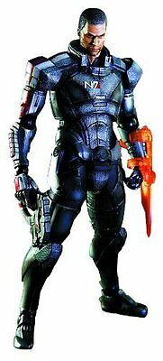 *NEW* Mass Effect 3 Commander Shepard Play Arts Kai Action Figure