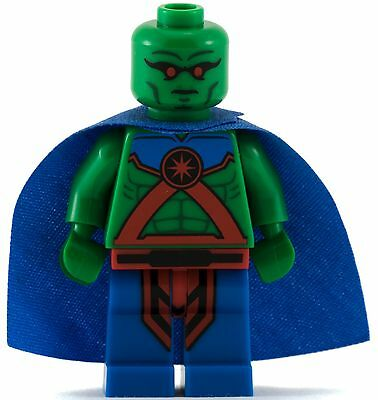 GENUINE Lego DC Super Heroes MARTIAN MANHUNTER Minifigure Poly Bag RARE 5002126