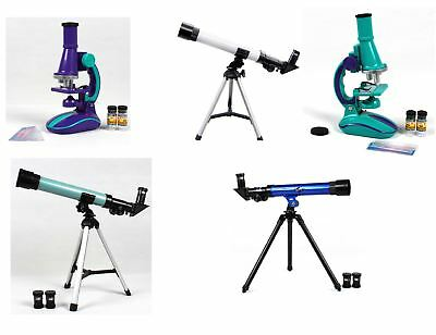 Vinsani Telescope & Microscope Astronomy Chemistry Learning Education Toy