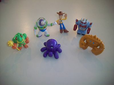 Disney Pixar Toy Story Buddy Pack Lot of 6 PVC Figures Woody Buzz Twitch Sparks