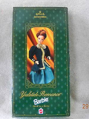"1996 Hallmark Yuletide Romance Barbie ""Special Edition Barbies"" Collectible"