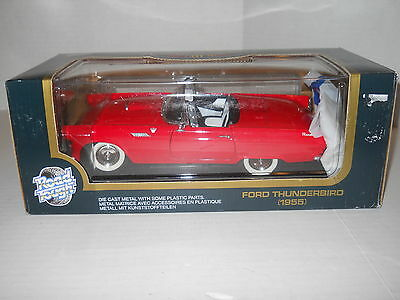 Road Tough Collection 1955 Ford Thunderbird Red 1:18 Die Cast Metal New In Box