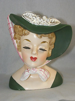 Vintage Lucille Ball Lady Head Vase - Napco C4414C 1959 - Headvase - I Love Lucy