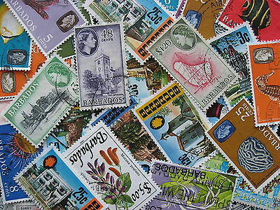 Collection breakup! BARBADOS 35 different to 1989, some mixed condition