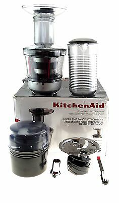 KITCHENAID Extra Wide Feed Chute Juicer & Sauce Stand Mixer Attachment #KSM1JA