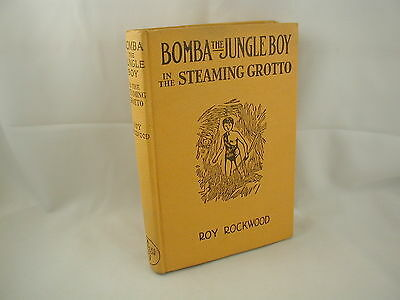 Bomba the Jungle Boy in the Steaming Grotto #20 Roy Rockwood DJ 1938 FE