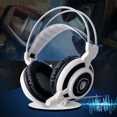 SADES Surround Stereo Pro Gaming Headset USB Headphone With Mic For PC Salable