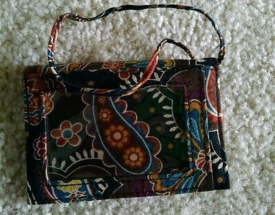 Business Card Holder / Luggage Tag in Kensington by Vera Bradley rare, sold out
