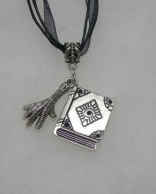 Harry Potter Ravenclaw Necklace ( With  Book of Spells)
