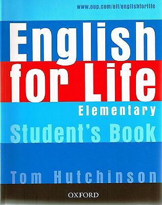Oxford ENGLISH FOR LIFE Elementary Student's book /Coursebook I Hutchinson @NEW@