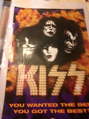 Kiss You Wanted The Best You Got The Best Promo 1996 Mercury Records Poster
