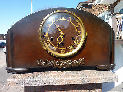Seth Thomas Antique mantle Portland clock 124 movement