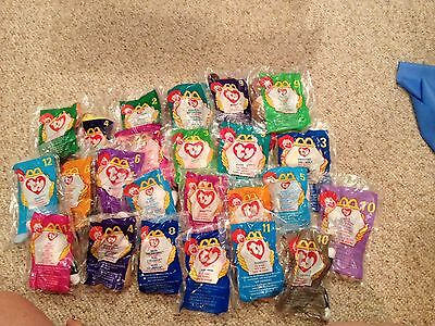 McDonald - TEANIE BEANIE BABIES - 99 cents each - Buy What You Need!