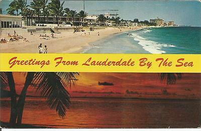 ag Fort Lauderdale Beach, Florida: Beach View and Sunset