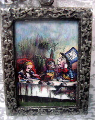 Alice in Wonderland at the Tea Party  Necklace By No Monet - Free Shipping