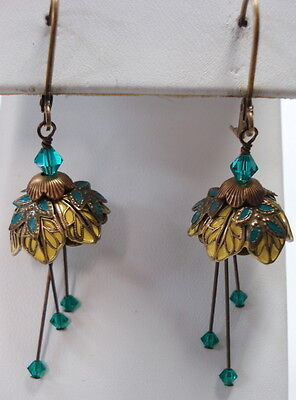 Flower Fairy ( Titania) Earrings By No Monet - Free Shipping