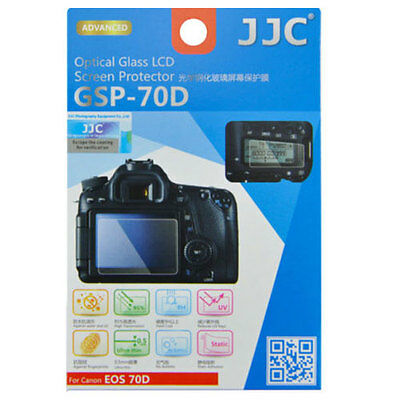 JJC GSP-70D Optical GLASS LCD Screen Protector Film for CANON EOS 70D 80D DSLR