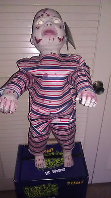 Spirit Zombie Baby Lil Walker Animated Halloween Decoration Prop Motion Activate