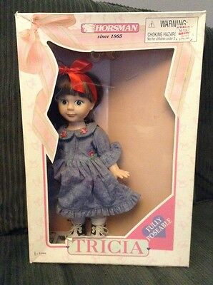 """RARE HORSMAN 12"""" Doll designed by Robin Woods TRICIA MINT IN BOX FRECKLES"""