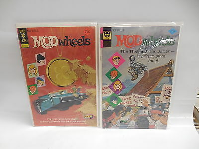Mod Wheels Gold Key Whitman Comic Books #10 & #19 TTP Turbo Tower Of Power