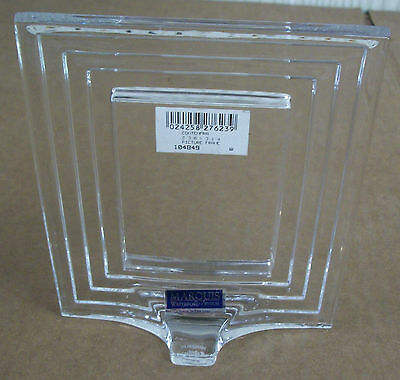 WATERFORD Marquis Crystal CONTEMPRA Picture Photo FRAME !!!