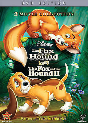The Fox and the Hound/Fox and the Hound II (DVD, 2011, 2-Disc Set, 30th...