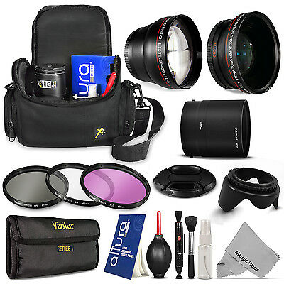 Nikon Coolpix P510 P520 P530 Camera Everything You Need Accessory Kit