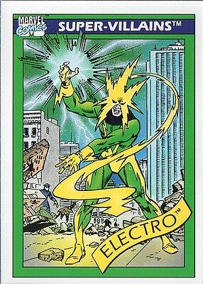 ELECTRO 1990 MARVEL COMICS IMPEL CARD # 58