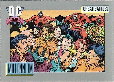 MILLENNIUM 1991 DC COMICS IMPEL CARD # 151