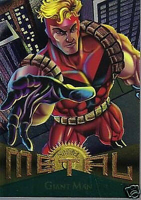 GIANT MAN 1995 MARVEL METAL # 12
