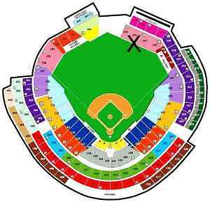 2 Washington Nationals St. Louis Cardinals tickets 4/22 DC 04/22/2014 Wednesday