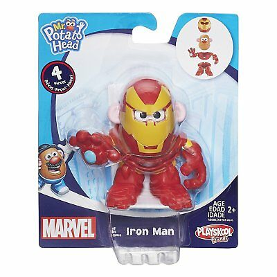 New Mr Potato Head Mixable Mashable Heroes Iron-Man Marvel Mph A8085 Ironman