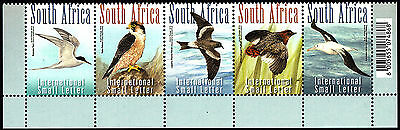 South Africa 2014 Critically Endangered Birds Strip of Stamps MNH