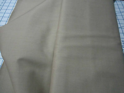 KHAKI   WEAVER'S CLOTH   Perfect fabric for NEEDLEPUNCH   55%Polyester-45%Cotton