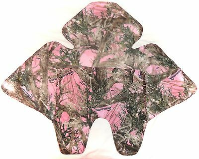 Pink Camo Car Seat Baby Blanket ~ Teddy Toes ~ Car Seat Canopy ~ Car Seat Cover